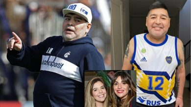 Photo of La impactante transformación física de Maradona, tras 15 días sin alcohol