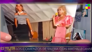 Photo of Valeria Mazza mostró la foto del día en que Mirtha la descubrió en Paraná