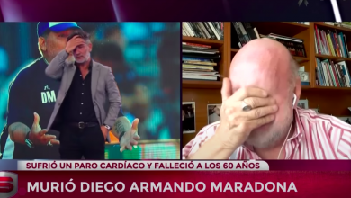 Photo of Video: Horacio Pagani se quebró al despedir a Diego Maradona