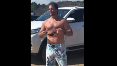 Photo of El video viral del presidente de Uruguay sin remera y de vacaciones